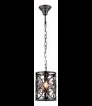 Lampa suspendata  House Rustika,1 x E14, 230V, D.18cm,H.27 cm,Maro inchis