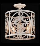 Lampa suspendata  House Rustika,3 x E14, 230V, D.36cm,H.43 cm,Alb