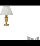 veioza Dora mica, 1 bec, dulie E14, D:240 mm, H:350 mm, Auriu