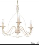 candelabru Corte, 3 becuri, dulie E14, D:440 mm, H:600/1000 mm, Ruginiu