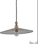 pendul Cantina mare, 1 bec, dulie E14, D:350 mm, H:300/1050 mm, Cupru