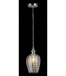 Lampa suspendata Fusion Blues,1 x E14,D.140,cm,H.1000 cm,Nichel