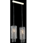 Lampa suspendata Fusion Twig,2 x E14,D.350,cm,H.1000 cm,Nichel