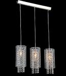 Lampa suspendata Fusion Twig,3 x E14,D.690,cm,H.1000 cm,Nichel