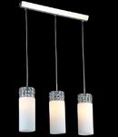 Lampa suspendata Fusion Collana,3 x E14,D.660,cm,H.1000 cm,Nichel