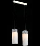 Lampa suspendata Fusion Collana,2 x E14,D.320,cm,H.1000 cm,Nichel