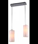 Lampa suspendata Fusion Toledo,2 x E14,D.380,cm,H.260 cm,Crem
