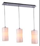 Lampa suspendata Fusion Toledo,3 x E14,D.640,cm,H.260 cm,Crem