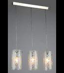 Lampa suspendata Fusion Fresh,3 x E14,D.680,cm,H.1000 cm,Nichel