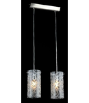 Lampa suspendata Fusion Fresh,2 x E14,D.340,cm,H.1000 cm,Nichel