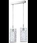 Lampa suspendata Fusion Suite,2 x E14,D.350,cm,H.1000 cm,Alb