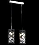 Lampa suspendata Fusion Suite,2 x E14,D.350,cm,H.1000 cm,Negru