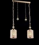 Lampa suspendata Fusion Sherbon,2 x E27,D.430,cm,H.250 cm,Auriu