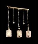 Lampa suspendata Fusion Sherbon,3 x E27,D.600,cm,H.250 cm,Auriu
