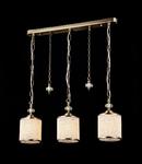 Lampa suspendata Fusion Sherbon,3 x E27,D.600,cm,H.250 cm,Bronz antic