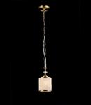Lampa suspendata Fusion Sherbon,1 x E27,D.120,cm,H.250 cm,Bronz antic