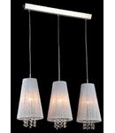 Lampa suspendata Fusion Assol,3 x E14,D.730,cm,H.1000 cm,Alb