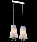 Lampa suspendata Fusion Assol,2 x E14,D.390,cm,H.1000 cm,Alb