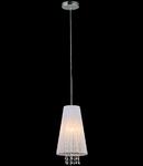Lampa suspendata Fusion Assol,1 x E14,D.170,cm,H.1000 cm,Alb