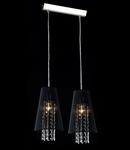 Lampa suspendata Fusion Assol,2 x E14,D.390,cm,H.1000 cm,Negru