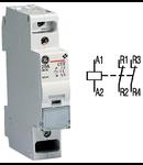 contactor modular Contax, 20A, 230V, CA, 1 modul, 2NI, Alb