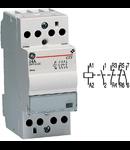 contactor modular Contax, 24A, 230V, CA/CC, 2 module, 2ND 2NI, Alb