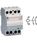contactor modular Contax, 40A, 230V, CA/CC, 3 module, 2ND, Alb