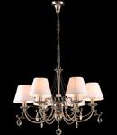Candelabru Royal Classic Soffia,6 x E14,D.650,cm,H.490 cm,Nichel