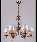 Candelabru Royal Classic Vals,6 x E14,D.700,cm,H.540 cm,Bronz