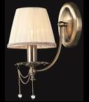 Aplica Royal Classic Rapsodi,1 x E14, 230V, D.15cm,H.29 cm,Bronz