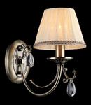 Aplica Royal Classic Soffia,1 x E14, 230V, D.16cm,H.27 cm,Bronz