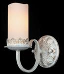 Aplica Royal Classic Palazzo,1 x E14, 230V, D.19 cm,H.23 cm,Alb-auriu