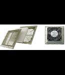 Ventilator cu grilaj si filtru 124X124mm