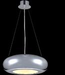 Lampa suspendata Modern Pulsar LED,1 x 18W,D.400,cm,H.1000 cm,Crom