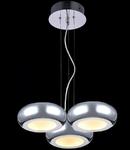Lampa suspendata Modern Pulsar LED,3 x 12W,D.470,cm,H.1200 cm,Crom