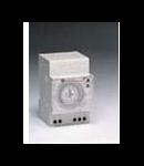 programator orar analogic pentru programare zilnica, program 1x24x2, sincronizare cu cuart, 3 module