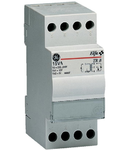 Transformator de sonerie, 15VA 230V-8/12V, 2 module