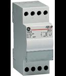 transformator de sonerie, 8VA 230V-12/24V, 2 module