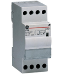 transformator de sonerie comutator integrat de conectare/deconectare, 8VA 230V-8/12V, 2 module