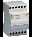 transformator de siguranta,15VA 230V-12/24V, 3 module
