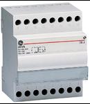 transformator de siguranta, 25VA 230V-12/24V, 4 module