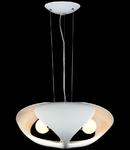 Lampa suspendata Modern Orion ,3 x E27,D.500,cm,H.230 cm,Alb
