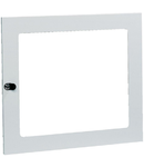 usa transparenta pentru carcasa cu 144 de module de dimensiuni 1100x740x140 mm