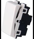Intrerupator cap scara alb  1modul NV-1220.112