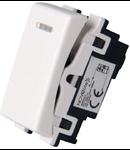 Intrerupator cu led alb  1modul NV1220.115