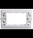 Rama suport  4 module  alba   NV-1220.004