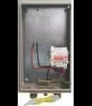 Bloc de masura si protectie Monofazat BMPM cu siguranta diferentiala si protectie supratensiuni 10A/300ma