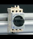 Separator de sarcina cu montare pe sina DIN, 2 module, standard gri, 25A