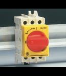 Separator de sarcina cu sigurante fuzibile, montare pe sina DIN, 2 module, 16A