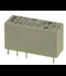 releu PCB miniatura 2 contacte comutatoare, 12V, CC 8A